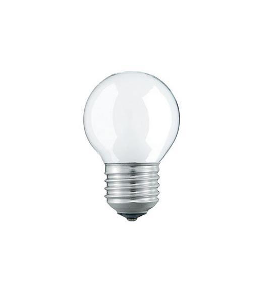 Лампа накал. Pila P45 Е27 шар прозр.