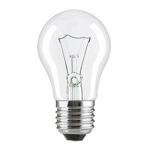 Лампа накал. Pila A55 E27 ЛОН прозрачная