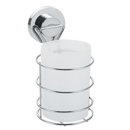 Стакан для ванной одинарный на присоске пластиковый FORA ATLANT A044