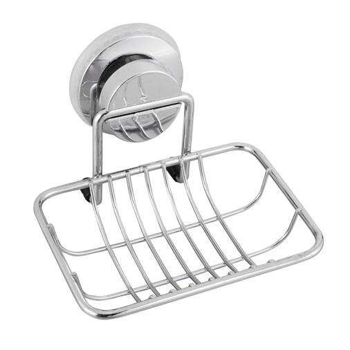 Мыльница-решетка для ванной настенная на присоске FORA ATLANT A034