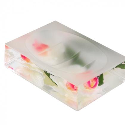 Мыльница White Orchid