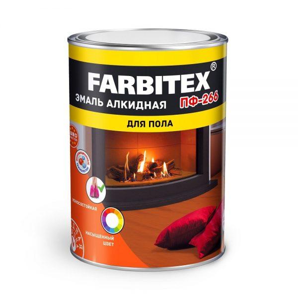Эмаль ПФ-266 FARBITEX