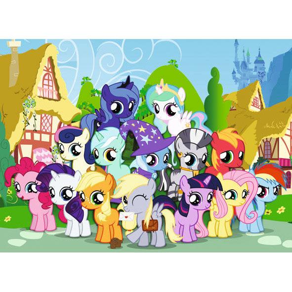 Веселые пони