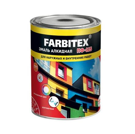 Эмаль ПФ-115 FARBITEX